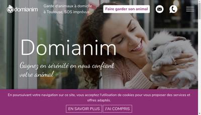 Site internet de Domianim