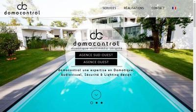 Site internet de Domocontrol