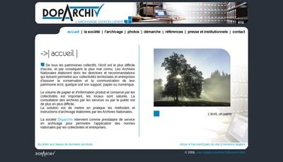 Site internet de Doparchiv