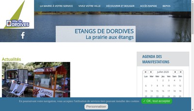 Site internet de Le Chalet de Dordives