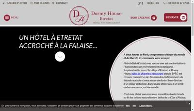 Site internet de Dormy House