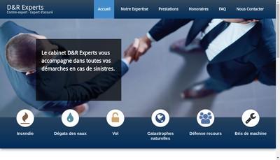 Site internet de D&R Experts