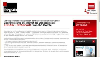 Site internet de Drainvac Franche Comte