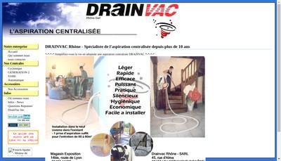 Site internet de Drain Vac Rhone