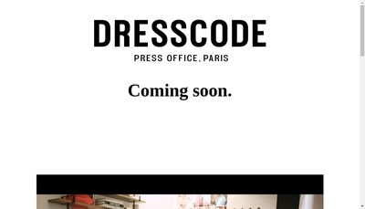 Site internet de Dress Code