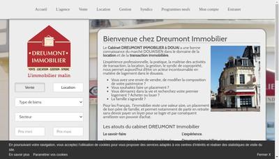 Site internet de Dreumont