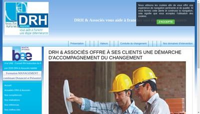 Site internet de DRH & Associes
