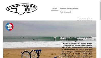 Site internet de Dromahc