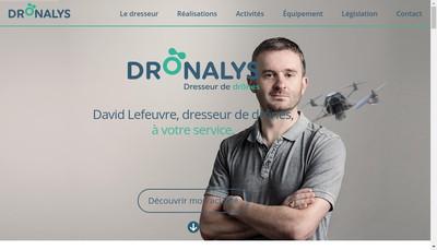Site internet de Dronalys