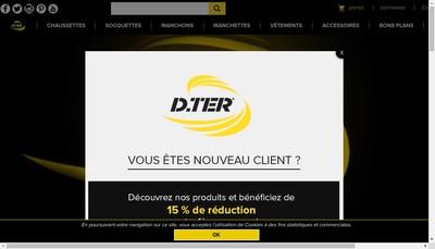 Site internet de D Ter Partners