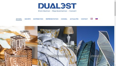 Site internet de Dualest