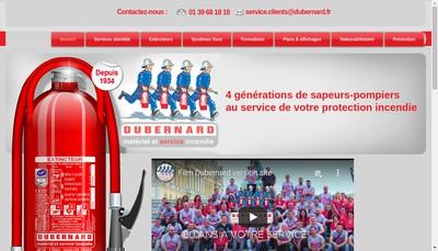 Site internet de Dubernard