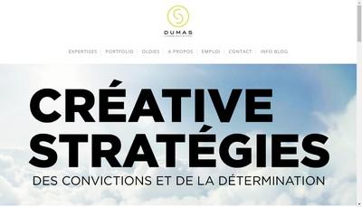 Site internet de Dumas Associes