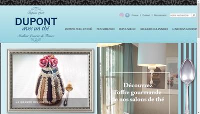 Site internet de Dupont