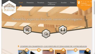 Site internet de Durand Fils