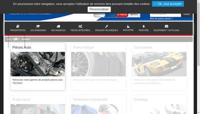 Site internet de Durand Services