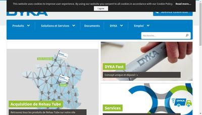 Site internet de Dyka SAS