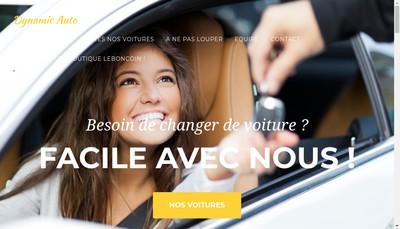 Site internet de Dynamic Auto