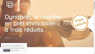 Site internet de Dynapret