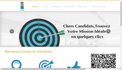 Site internet de E3M Management