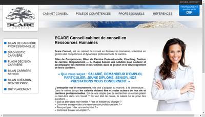 Site internet de E Care Conseil