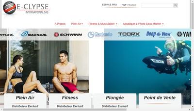 Site internet de E-Clypse International