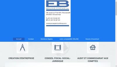 Site internet de Cabinet Encaoua Bruno