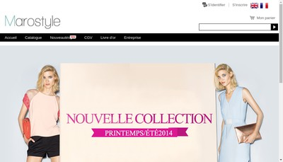 Site internet de Marostyle