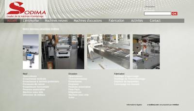 Site internet de Sodima