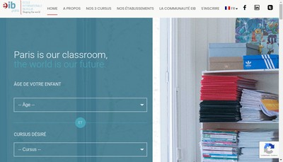 Site internet de Eab Victor Hugo