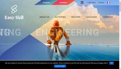 Site internet de Easy Skill France