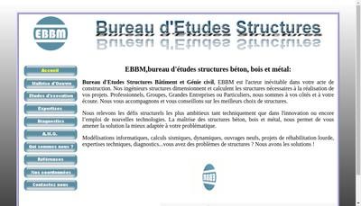 Site internet de Ebbm
