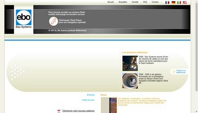 Site internet de Ebo Systems