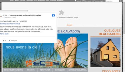 Site internet de EC 3S