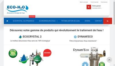Site internet de Eco H20