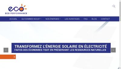 Site internet de Ecoperformance Cdf Solutions Bh Trading