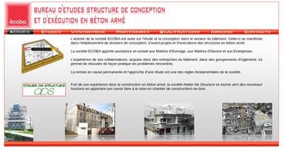 Site internet de Ecoba