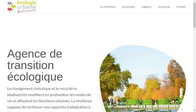 Site internet de Ecologie Urbaine SARL