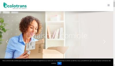 Site internet de Ecolotrans