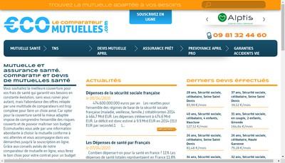 Site internet de Cabinet Ecomutuelles