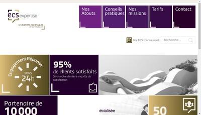 Site internet de Ecoute Comptabilite Services Expertise