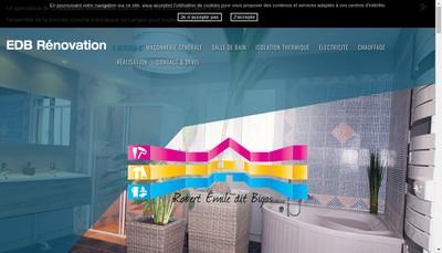 Site internet de EDB Renovation