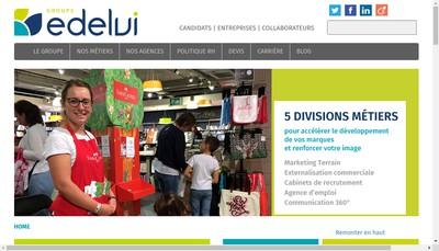 Site internet de Edelvi Field Marketing