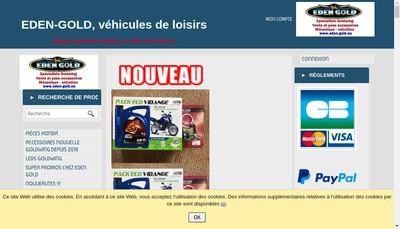 Site internet de SAS Eden VDL