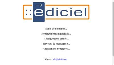 Site internet de Ediciel