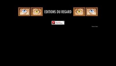 Site internet de Editions du Regard