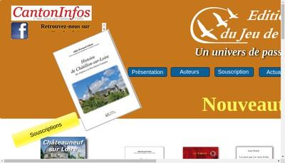 Site internet de Les Editions du Jeu de l'Oie