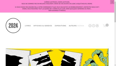 Site internet de Editions 2024