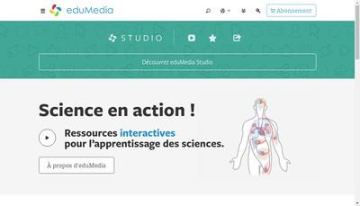 Site internet de Edumedia