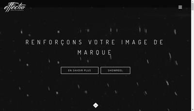 Site internet de Effectio